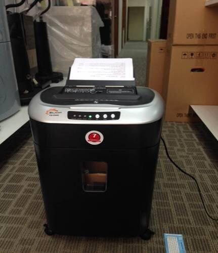Cách thức hoạt động của máy hủy tài liệu