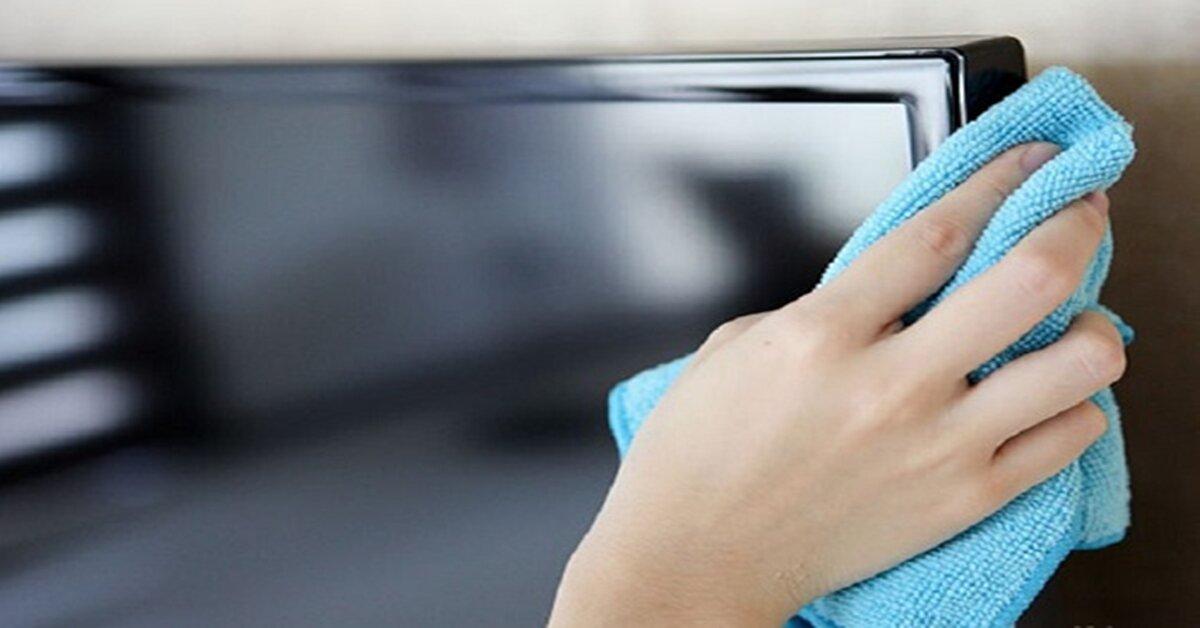 Cách vệ sinh màn hình tivi led an toàn