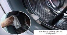 Cách vệ sinh máy giặt lồng ngang và máy giặt lồng đứng