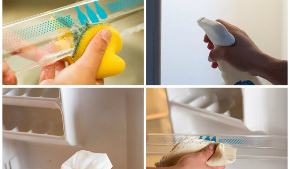 Cách vệ sinh tủ lạnh đơn giản từ giấm, banking soda, kem đánh răng đón Tết 2018