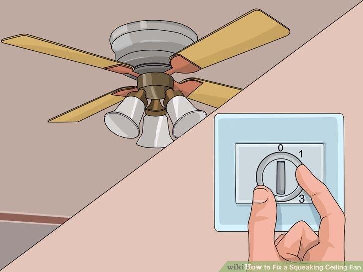 Cách xử lý khi quạt trần bị rung lắc