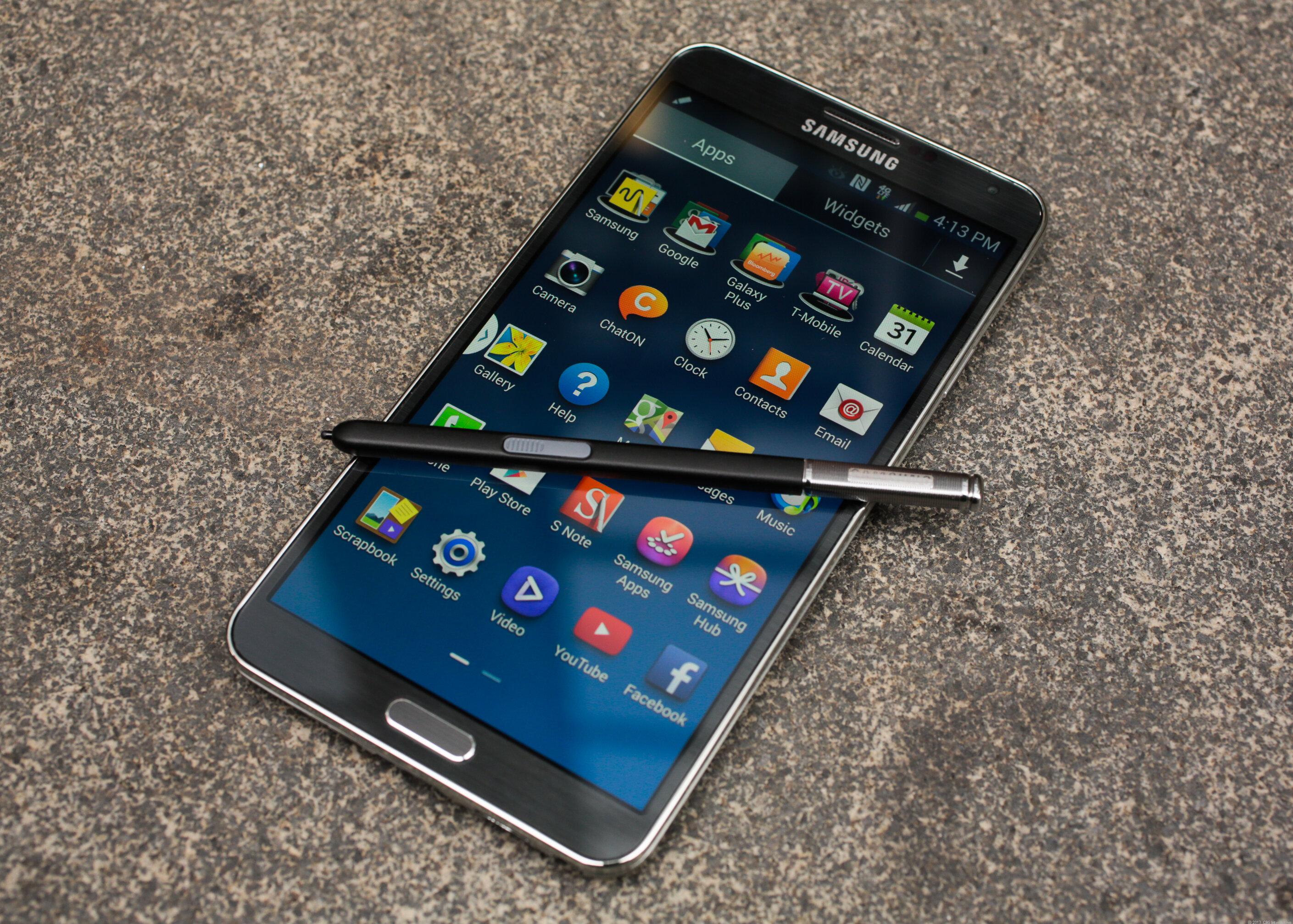 Camera 16 megapixel có thể vắng bóng trên Galaxy Note 4