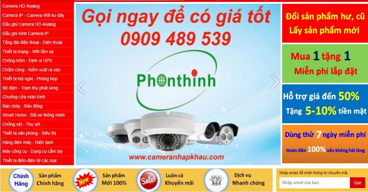 Cameranhapkhau.com – Cam kết bán hàng chính hãng, tư vấn chuyên nghiệp, giá tốt nhất