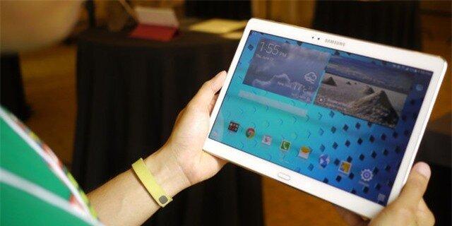 Cận cảnh Samsung Galaxy Tab S 10.5 màn hình siêu nét