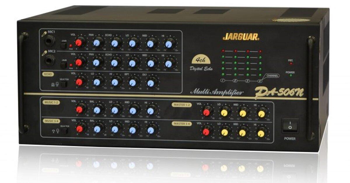 """Cân chỉnh amply Jarguar 506N """"chuẩn đét"""" cho hiệu quả tốt nhất"""