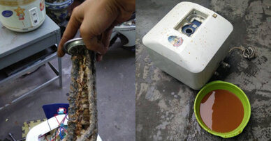 Cẩn thận khi mua bình nóng lạnh cũ  với nhiều nguy cơ bị rò rỉ điện và bị điện giật