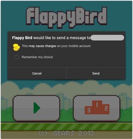 Cảnh giác phần mềm độc hại giả mạo Flappy Bird