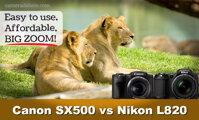 Canon PowerShot SX500 IS và Nikon Coolpix L820 – kỳ phùng địch thủ (phần 3)