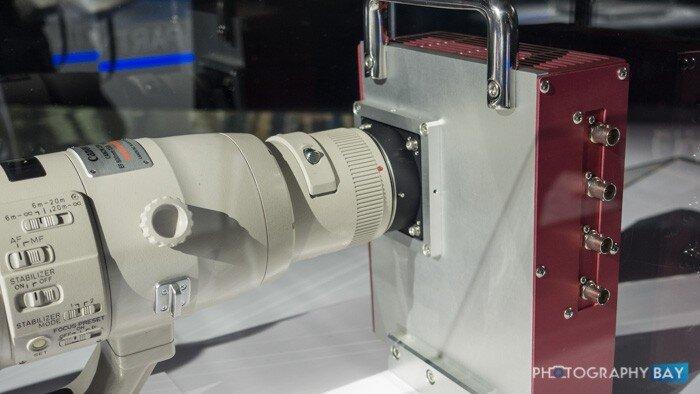 Canon trình làng cảm biến và máy ảnh độ phân giải 250 megapixel