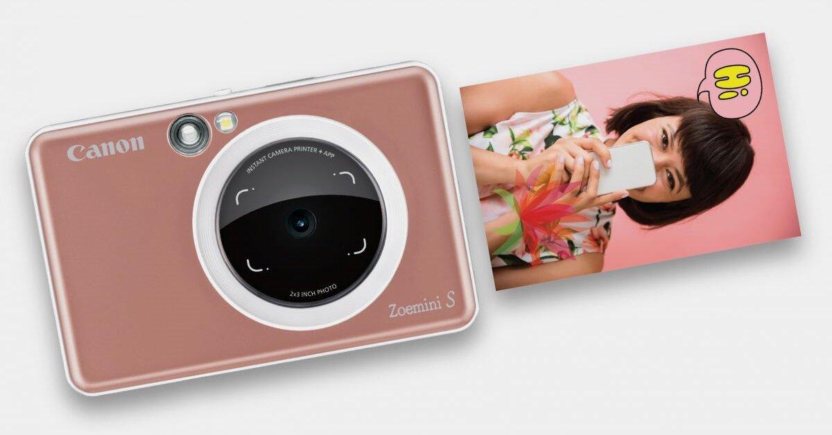 Canon Zoemini S có gì đặc biệt? Giá bán bao nhiêu?