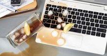 Cấp cứu laptop khi bị nước đổ vào như thế nào?
