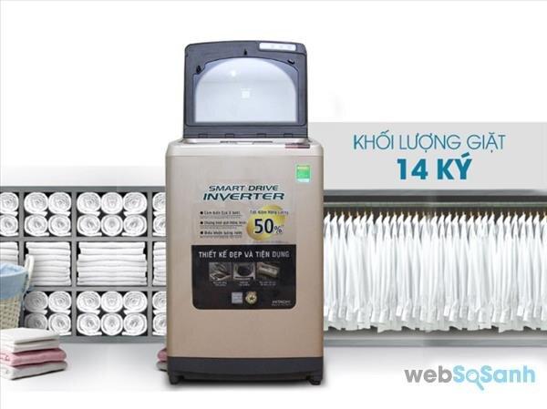 Cập nhật giá máy giặt Hitachi lồng đứng chính hãng