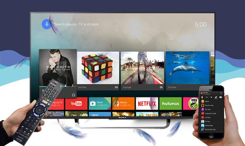 Cập nhật giá Smart tivi Sony cao cấp trên thị trường tháng 6/2017
