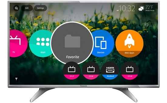 Cập nhật giá Smart Tivi Panasonic mới nhất thị trường tháng 6/2017