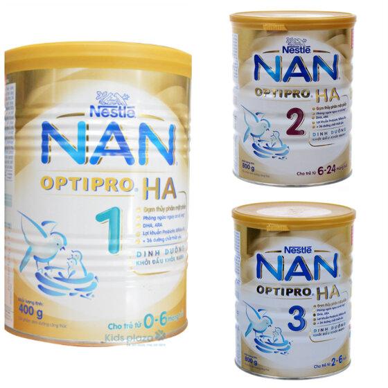 Cập nhật giá sữa Nan mới nhất trong tháng 6/2017