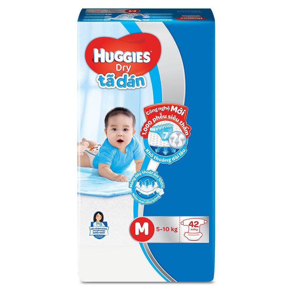 Cập nhật giá tã dán Huggies trong tháng 12/2017