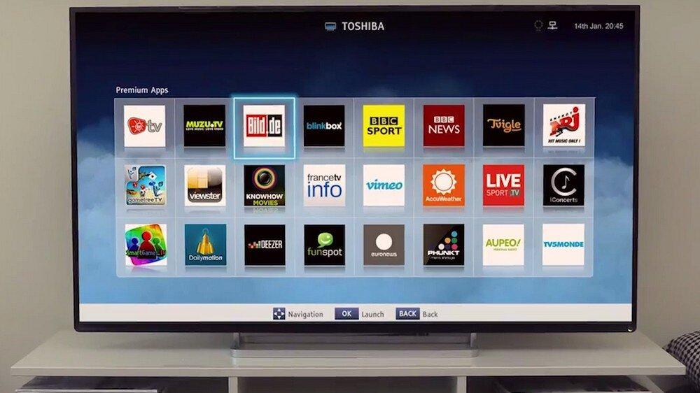 Cập nhật so sánh giá các dòng Smart tivi Toshiba trên thị trường hiện nay