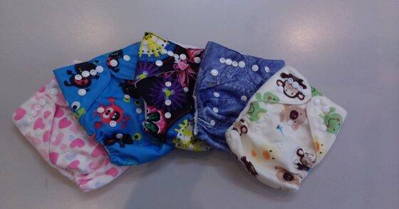 Cấu tạo bỉm vải – Có nên dùng bỉm vải ?