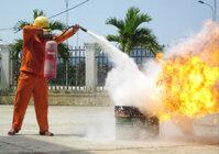 Cấu tạo bình chữa cháy CO2