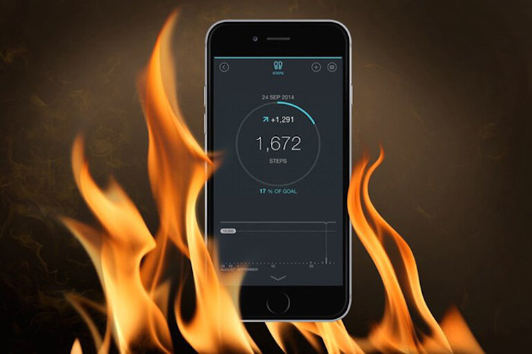 Máy iPhone bị nóng máy