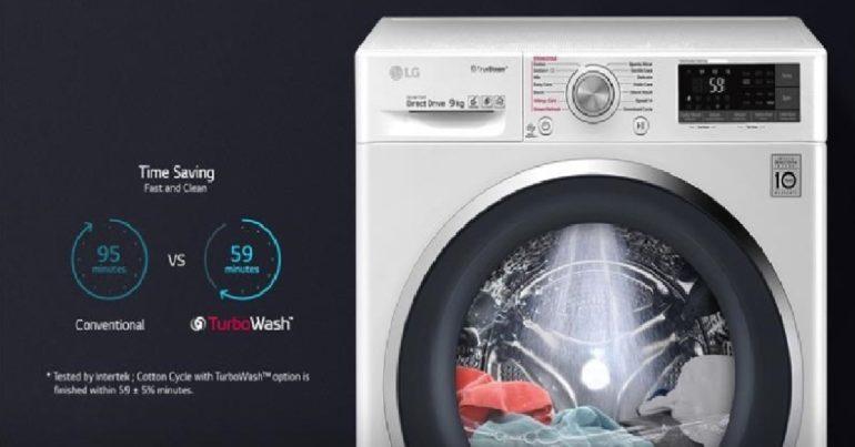 Đánh giá máy giặt LG FC1409S3W