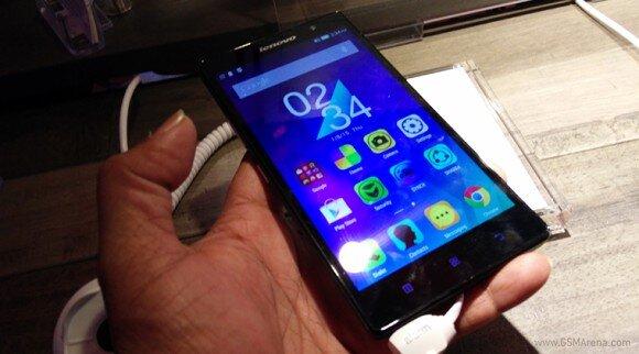 CES 2015: Lenovo trình làng smartphone A6000 sử dụng vi xử lý 64- bit