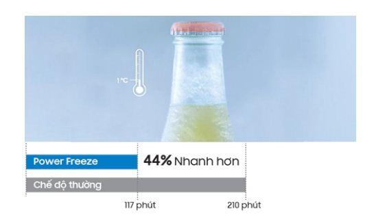 Chức năng Power Cool & Power Freeze - Làm lạnh siêu tốc