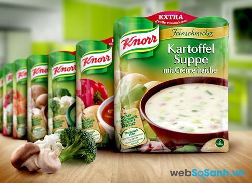 Giá hạt nêm Knorr