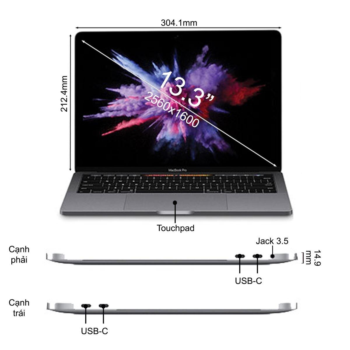 Macbook nay đã có thêm thanh cảm ứng Touch Bar cực tiện lợi