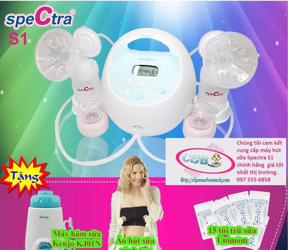 Chamsocbesosinh.com phân phối và tư vấn máy hút sữa Spectra