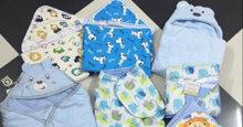 Chăn ủ cho bé sơ sinh mùa đông loại nào tốt ?