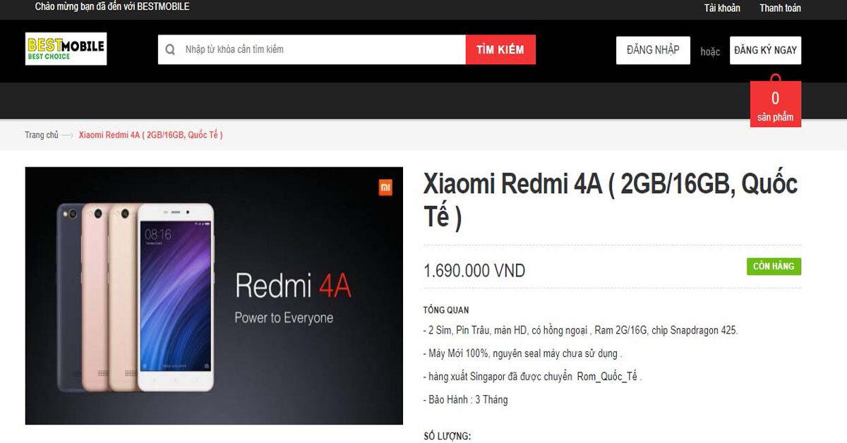 Chao đảo với cơn bão smartphone mới giá rẻ dưới 2 triệu đồng từ Best Mobile