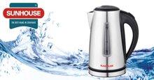 Chất lượng ấm đun nước siêu tốc Sunhouse giá rẻ có tốt không?