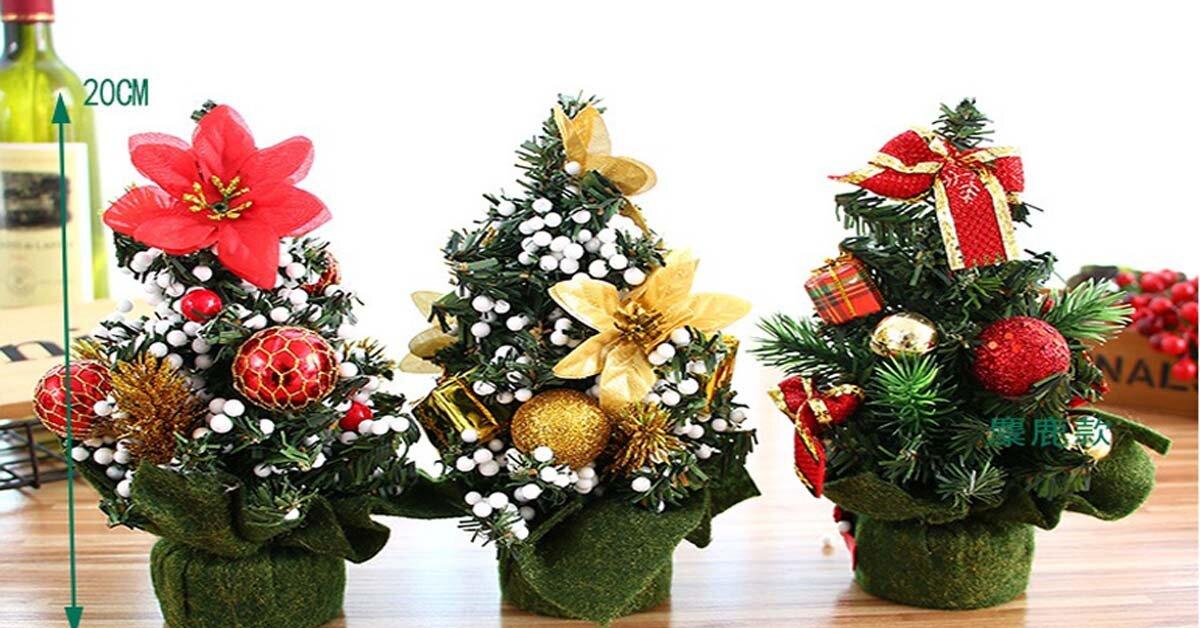 CHÁY HÀNG cây thông noel mini và đồ trang trí mùa giáng sinh 2018