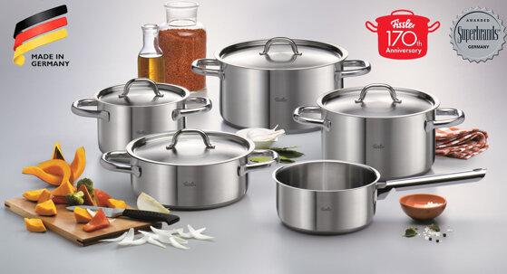 Chỉ có Fissler – Đồ dùng nhà bếp cao cấp tốt nhất cho gia đình