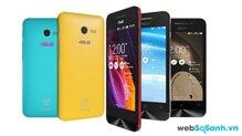 Chi tiết điện thoại thông minh giá rẻ Asus Zenfone 4