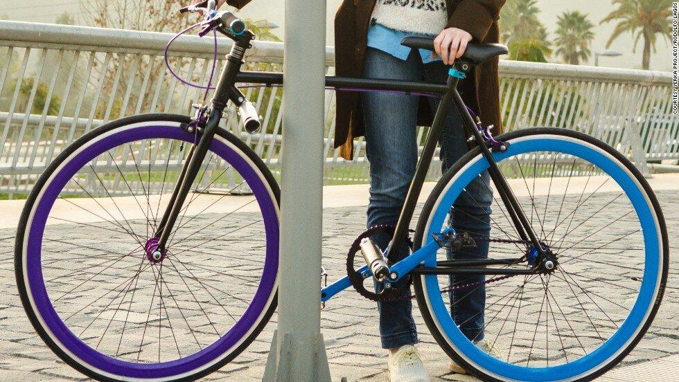 """Chiếc xe đạp khiến các tên trộm phải """"lè lưỡi ngán ngẩm"""""""