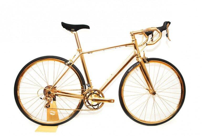 Chiếc xe đạp mạ vàng đắt nhất thế giới