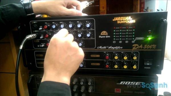 Chỉnh Amply Karaoke chuẩn với 5 bước đơn giản