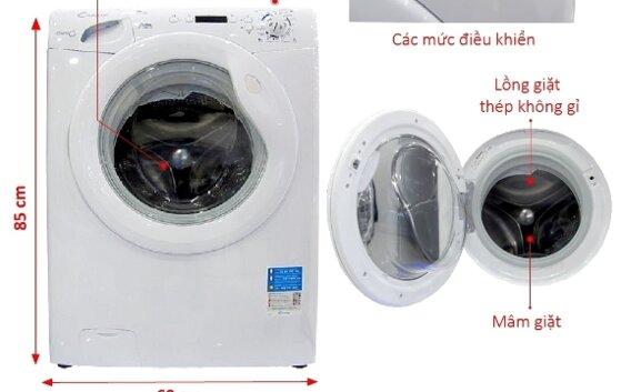 Chính sách bảo hành máy giặt Candy và các trung tâm ở Hà Nội, HCM