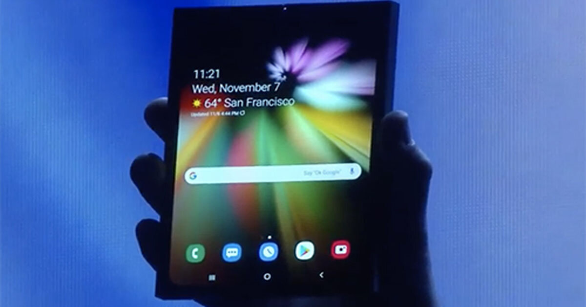 Chính thức: Samsung trình diễn smartphone màn hình có thể bẻ cong, iFan có ghen tị không?