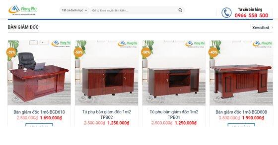 Chợ nội thất Phong Phú – Địa chỉ bán nội thất thanh lý uy tín, chất lượng tại Hà Nội.
