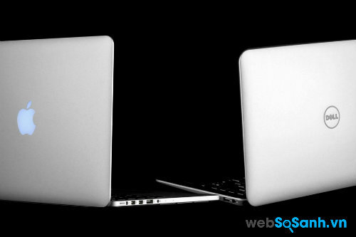 Chọn  Apple MacBook Pro 13 (2013) hiệu năng cao hay    Dell XPS 13 (2014) pin ấn tượng?