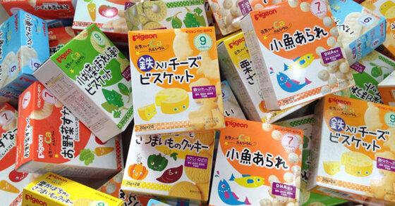 Chọn bánh ăn dặm của Nhật cho bé theo từng tháng tuổi