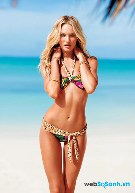 """Chọn bikini """"chuẩn không chỉnh"""" cho người có dáng thước kẻ"""