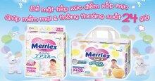 Chọn bỉm quần hay bỉm dán Merries size S cho con ?