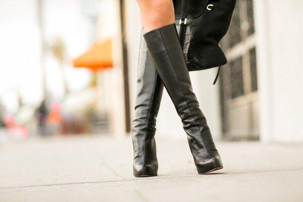 Chọn boots cho cô nàng có chiều cao khiêm tốn