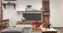 Chọn kệ tivi cho phòng khách đẹp và hài hòa với nội thất trang trí