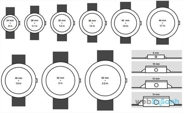 Chọn kích thước đồng hồ như thế nào để phù hợp với cổ tay của bạn?