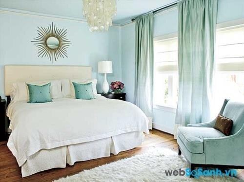 Chọn màu sơn cho phòng ngủ có diện tích nhỏ